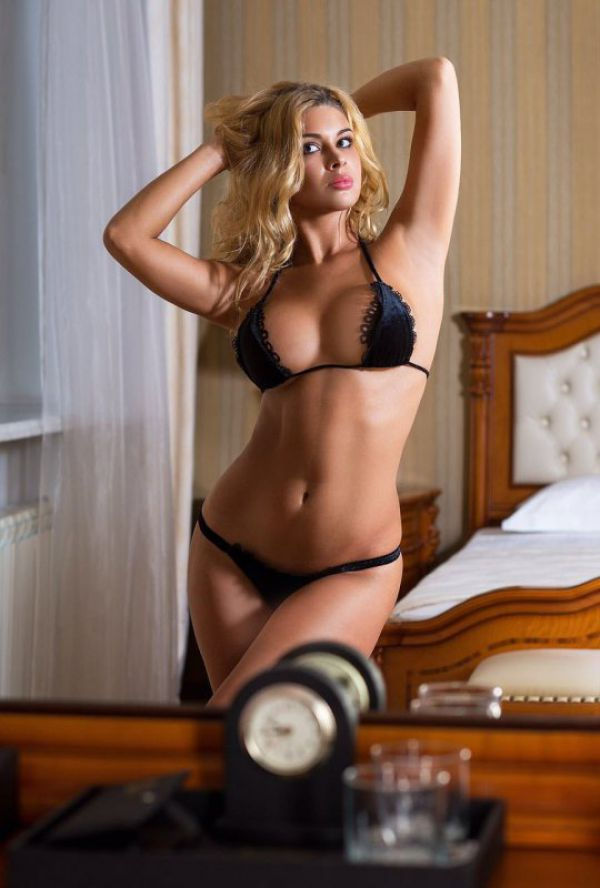 Lesbian call girl KATRIN is waiting for ladies